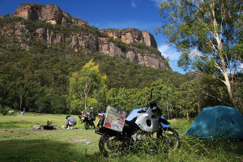 Newnes campsite, NSW