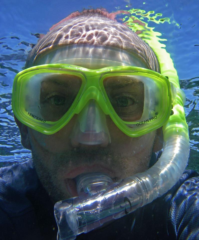 Snorkelling at Coral Bay,  WA