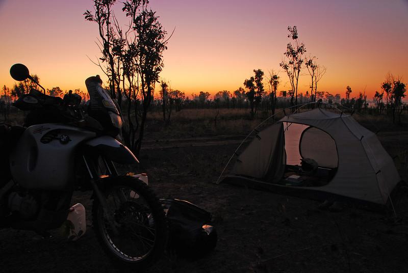 Bush camp 16  nr.Noonamah,  NT