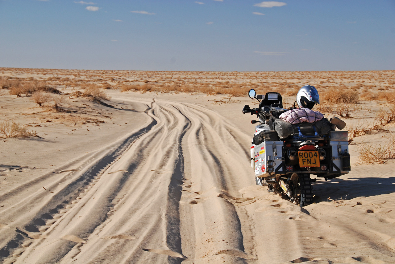 As tough as it got...more sand on the way to Lake Eyre