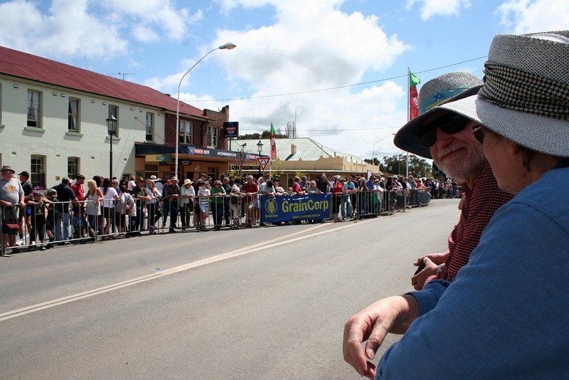 Faces in the crowd. The Running of the Sheep, Boorowa, 5 October 2008.