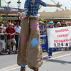 Stilt walker. The Running of the Sheep, Boorowa, 5 October 2008.