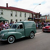 Morris Minors on parade. The Running of the Sheep, Boorowa, 5 October 2008. edit