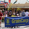 The excitement builds. The Running of the Sheep, Boorowa, 5 October 2008.