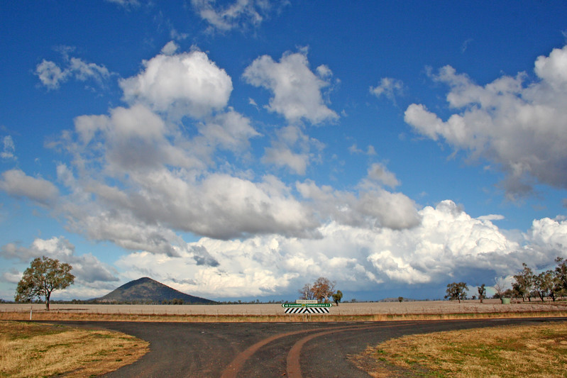 26 July 2014: Storm on the Liverpool Plains, near Gunnedah.