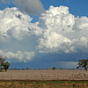 26 July 2014: Landscape with storm on the Liverpool Plains, near Gunnedah.