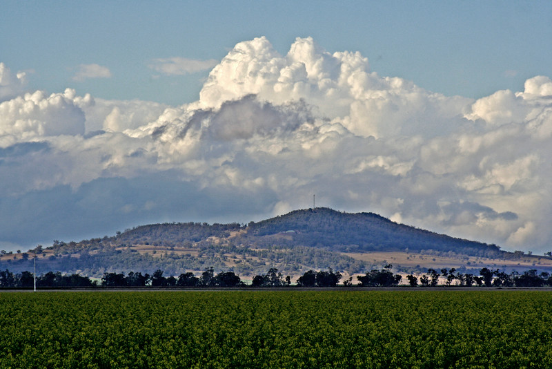 26 July, 2014: Landscape near Gunnedah.
