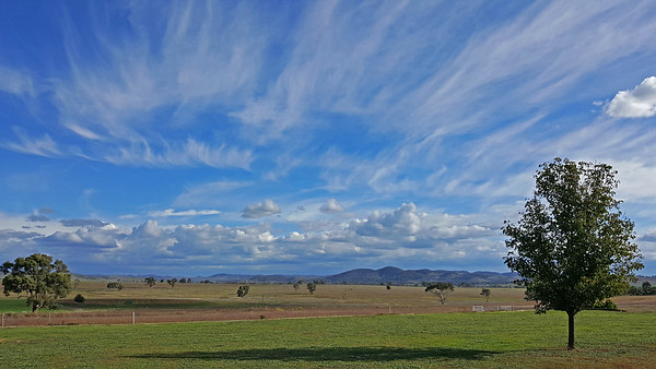 6 May 2017: Landscape near Gulgong, New South Wales.