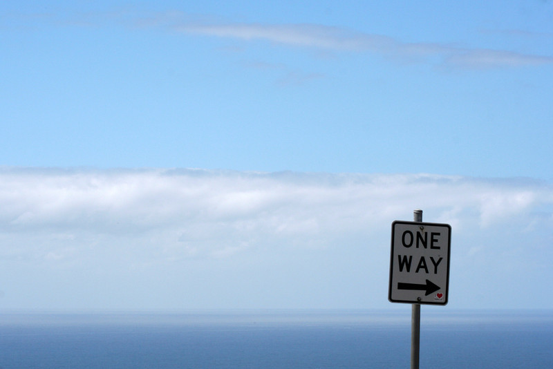 Ocean view at Stanwell Park, New South Wales.