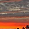 24 January 2015: Sunset skyscape near Reids Flat, New South Wales.