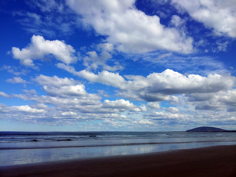 16 August 2012: Mid afternoon on Seven Mile Beach, Gerroa.