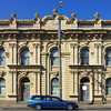 19 October 2013: Magnificent 19th century Italianate building, Maitland, New South Wales.