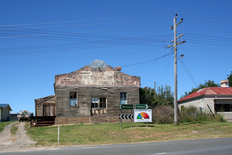 29 December, 2011 @ Delegate, New South Wales: Street scene.