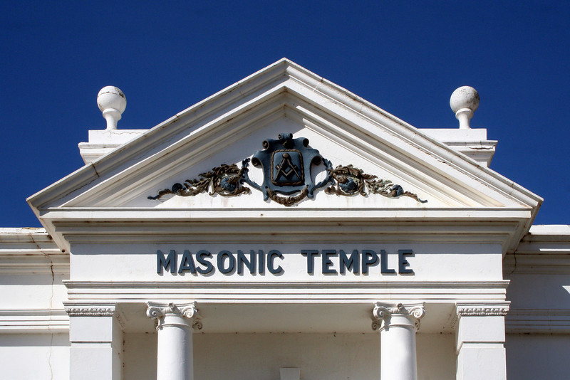 Masonic Temple, Adelaide Street, Blayney, New South Wales.