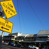 19 October 2013: Late afternoon streetscape at Morpeth, New South Wales.