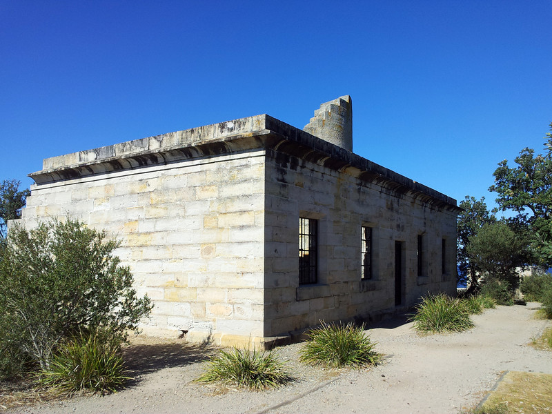 19 August 2012: Ruins of Cape St George lighthouse at the southern approach to Jervis Bay. Built in entirely the wrong location as a consequence of approval by an inept committee, compounded by the actions of corrupt builder, the lighthouse caused more shipwrecks than it prevented during its several decades of operation. After being superceded by the Point Perpendicular Light it continued to function as a hazzard to navigation until being blown to pieces by the Royal Australian Navy during live fire exercises in the 1920s.