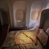 The seat in bed-mode :)