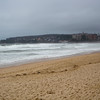 Rough water at Manly Beach