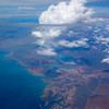 Flying over Australia
