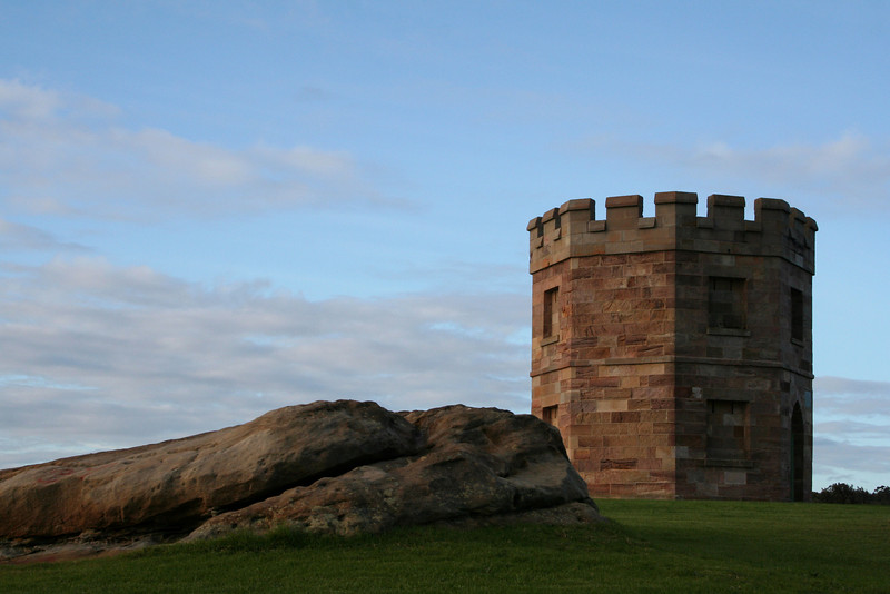 Old customs station at La Perouse, near the northern entrance to Botany Bay, New South Wales.