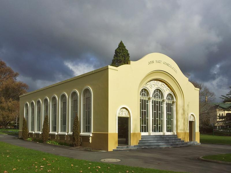 30 July 2015: John Hart Conservatory, City Park, Launceston, Tasmania.