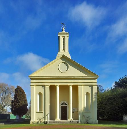 3 August 2015: Uniting (former Presbyterian) Church, Evandale, Tasmania.