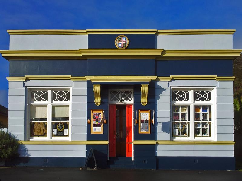31 July 2015: 19th century bank building, Church Street, Stanley, Tasmania.