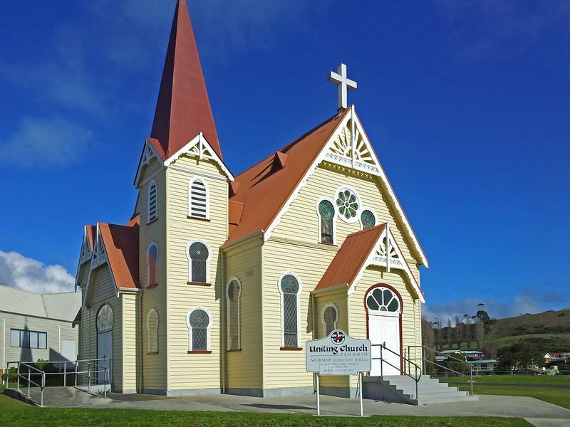 31 July 2015: Uniting (former Methodist) Church, Penguin, Tasmania.