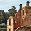 24 July 2015: Ruins of the Penitentiary, Port Arthur Historic Site, Port Arthur, Tasmania.
