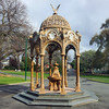 30 July 2015: Queen Victoria Jubilee Fountain, City Park, Launceston, Tasmania.