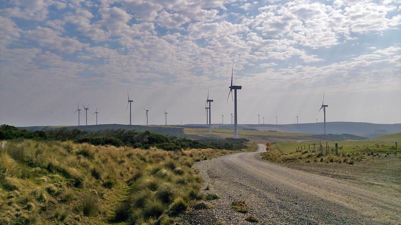 6 April 2017: Wind farm @ Woolnorth, Tasmania.