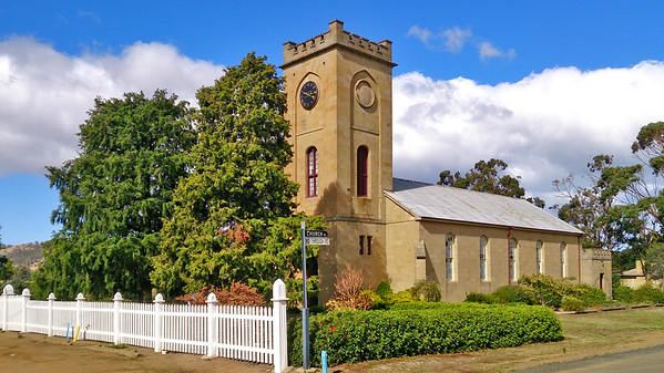 1 April 2017: Anglican Church, Richmond, Tasmania.