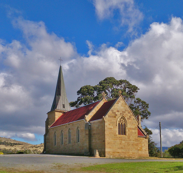1 April 2017: Roman Catholic Church, Richmond, Tasmania.