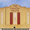 7 April 2017: The former Paragon Theatre, Queenstown Tasmania.
