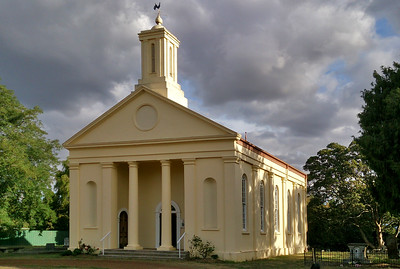 4 April 2017: Former Presbyterian church, Evandale, Tasmania.