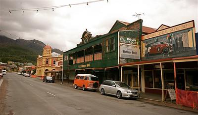 Queenstown, Tasmanië, Australië.