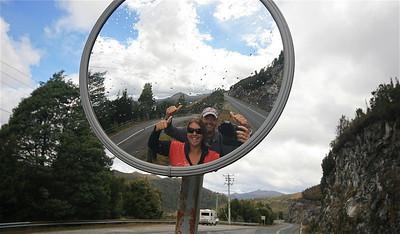 Uit de reeks: 'Spiegelbeeld.' Southwest National Park, Tasmanië, Australië.