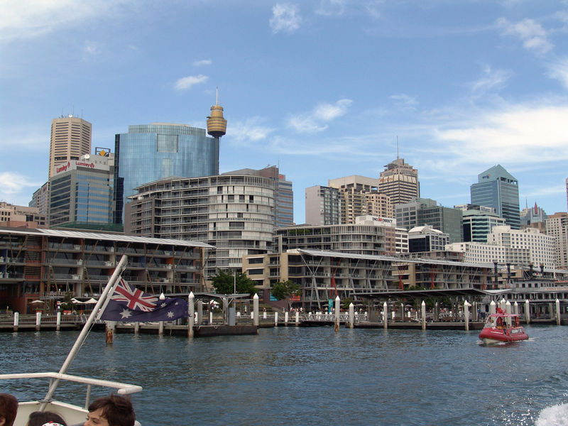 Darling Harbor Skyline, Sydney NSW