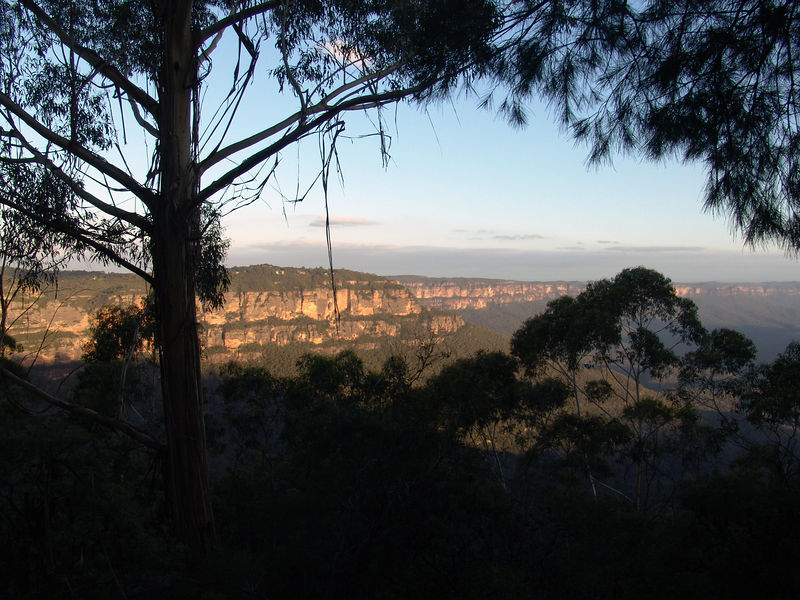 """The view from Katoomba of the Australia's """"Grand Canyon"""""""