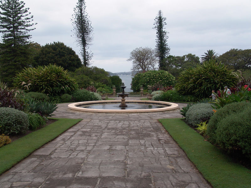 The Goveners House at the Sydney Botanical Garden