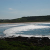 The Farm. Surfing spot in Killalea State Park.