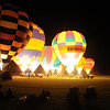 Balloon light up at Canowindra.