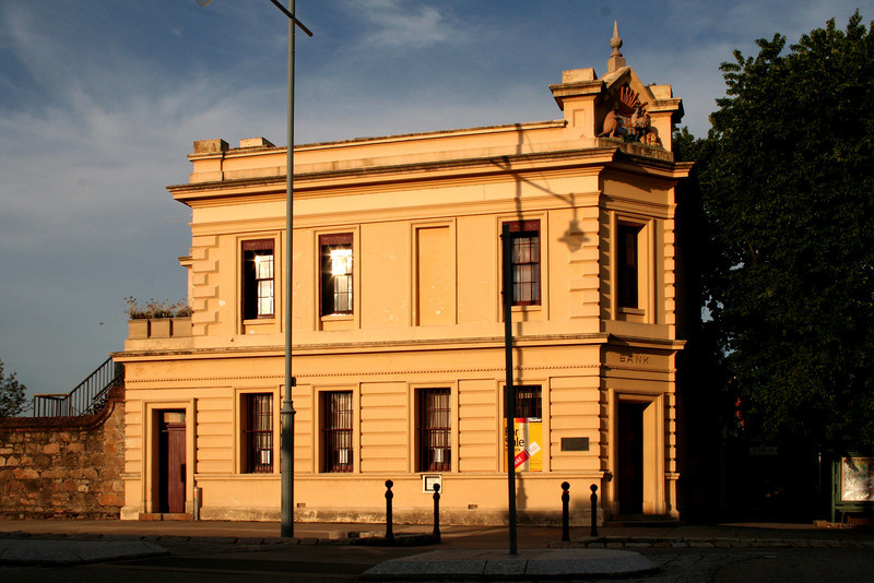 2 January 2012 @ Beechworth, Victoria: Former Bank of New South Wales building.