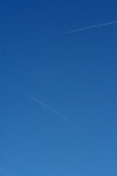 1 January 2012 @ Mount Hotham, Victoria: Flightpaths over the Snowy Mountains.