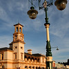 2 January 2012 @ Beechworth, Victoria: Post office and streetlight.