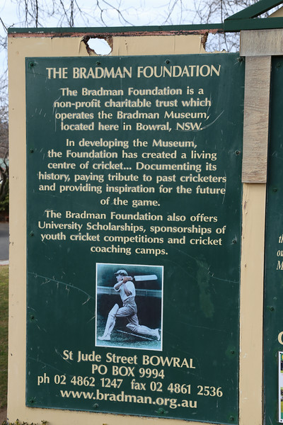 Sir Donald Bradman Oval IMG_5367