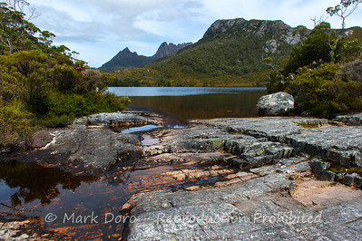 Lake Lilla, looking towards Cradle Mountain