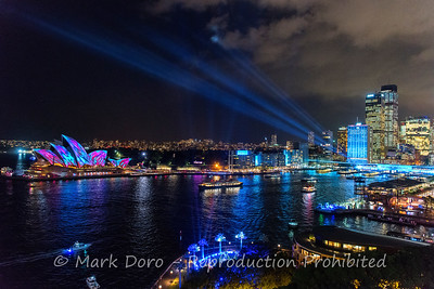 Vivid festival, Sydney, New South Wales