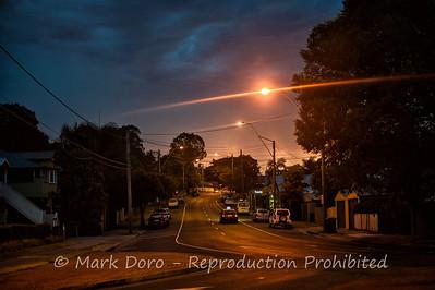 Storm night, Brisbane, Australia