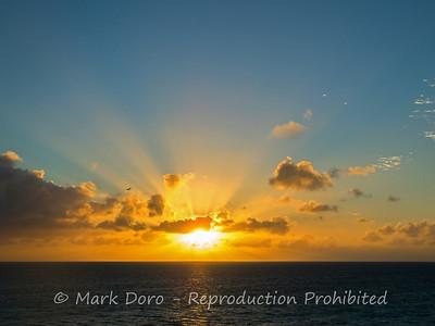 Heron Island dawn, Heron Island, Queensland